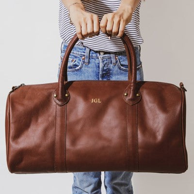 Seline Leather loung travel bag