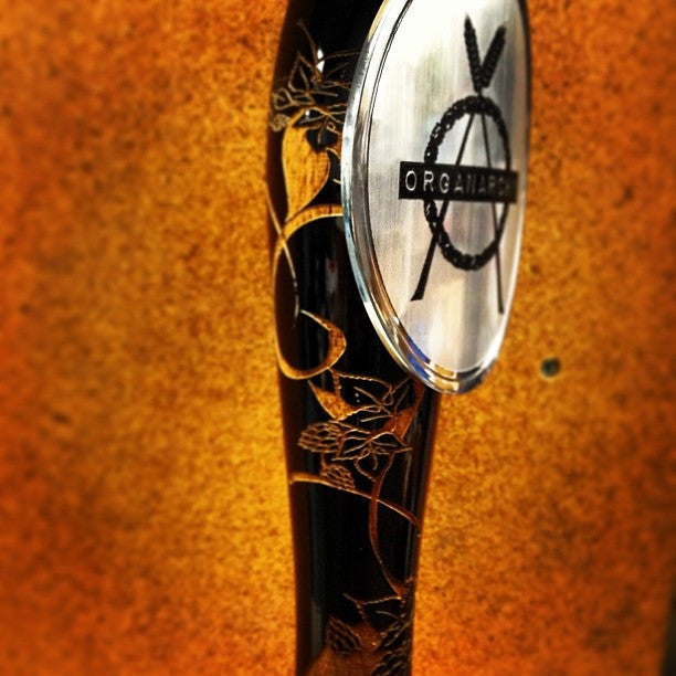 Organarchy Engraved Tap Handle