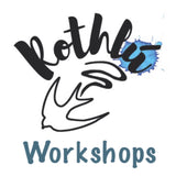 Rothlú Workshops in Surface Pattern Techniques, Book-binding, and Art Processes