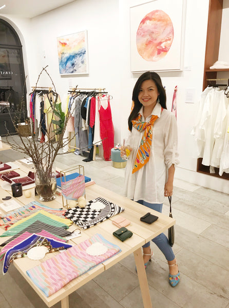 Nonamu at Curated Crowd Mayfair pop up store