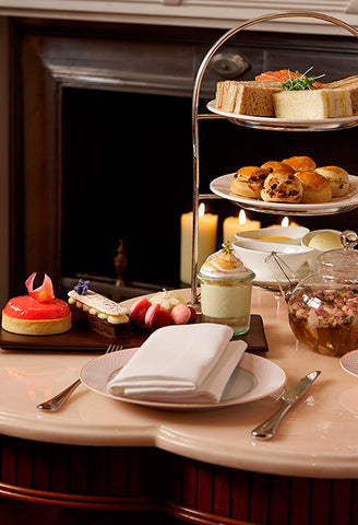 Afternoon tea at The Rose Lounge, Sofitel St James