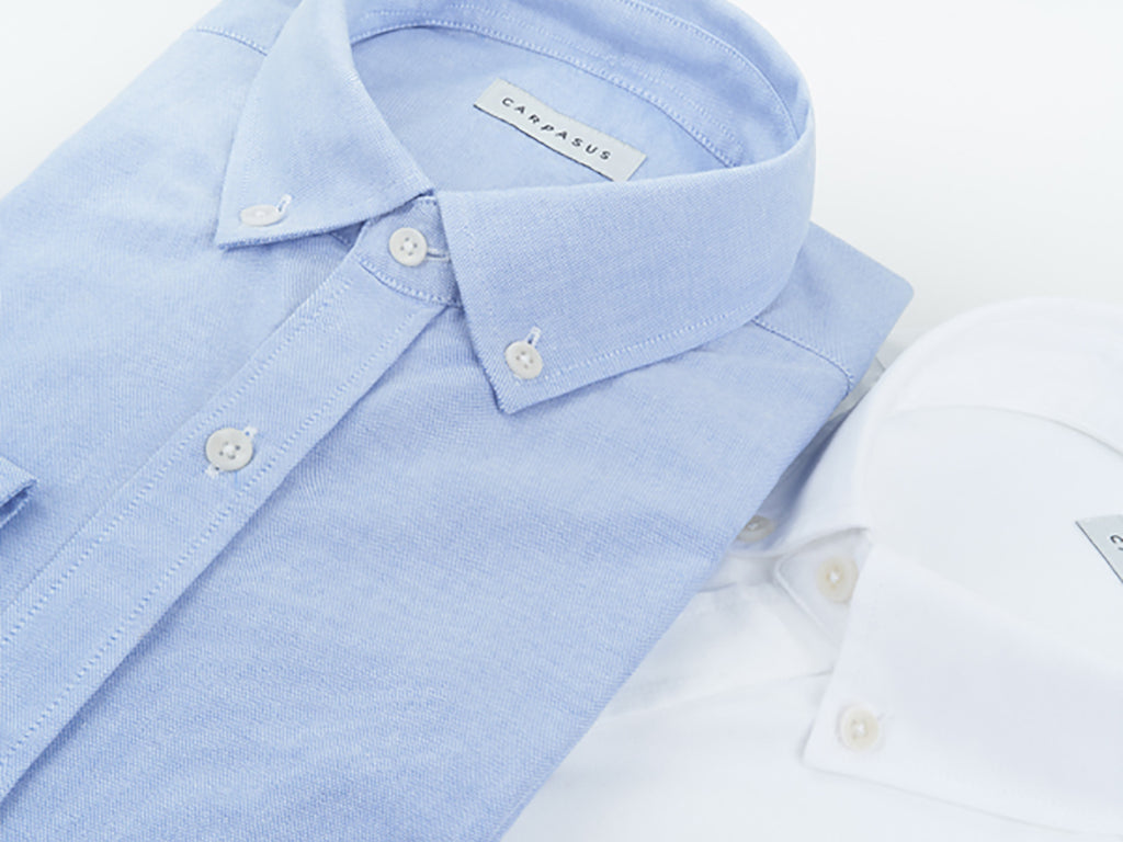 CARPASUS Oxford Shirts Collection made from organic cotton - fair fashion for men