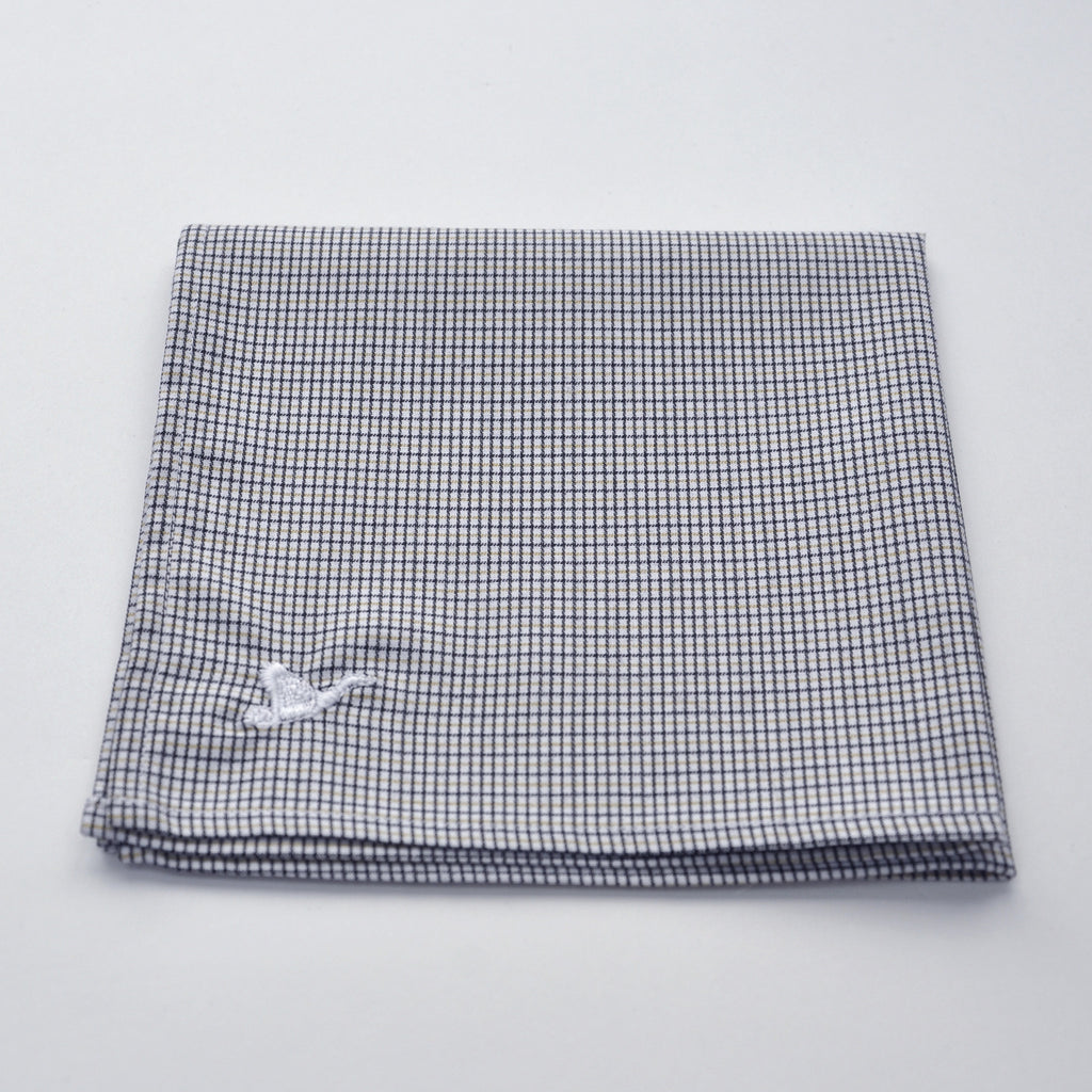CARPASUS Pocket Square 'Classic' Black/Yellow Check