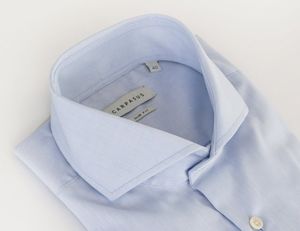 Dress Shirt Cutaway Blue