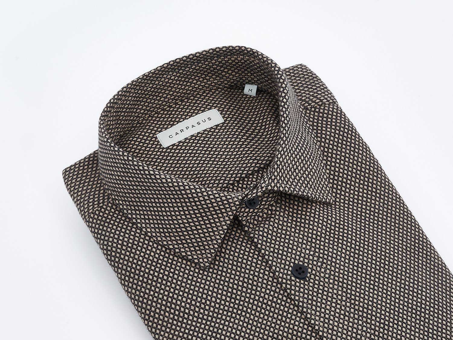 carpasus sustainable organic cotton shirt lynx black. Nachhaltiges Carpasus Hemd Lynx aus Bio Baumwolle in Schwarz