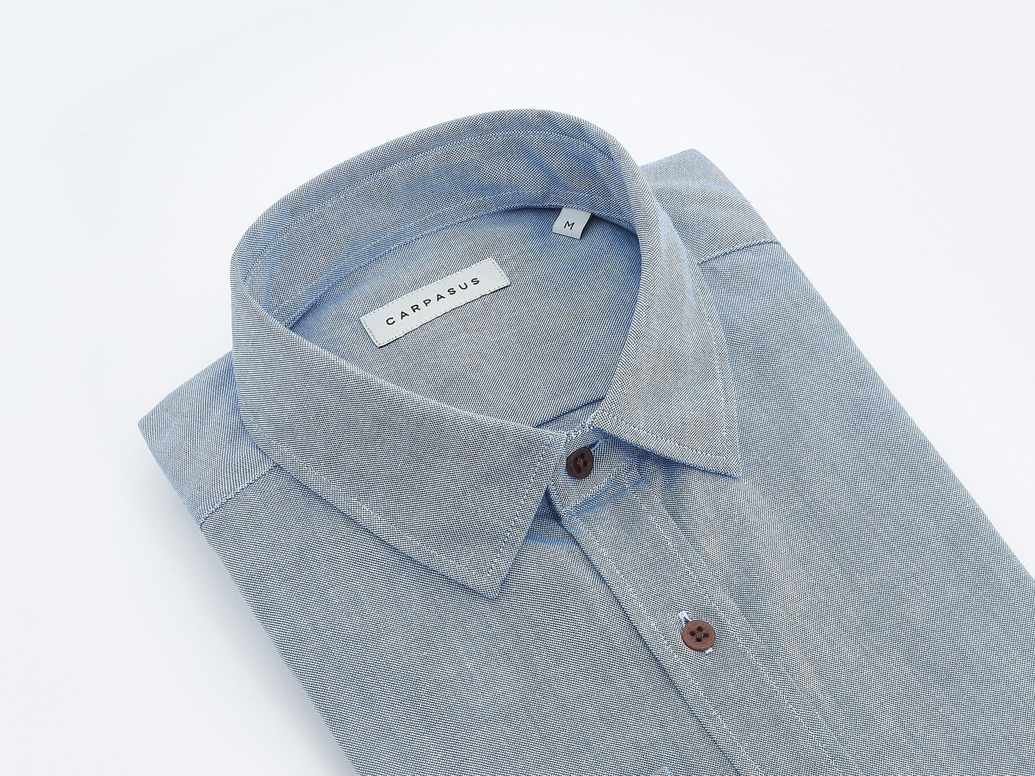 carpasus sustainable organic cotton shirt rivero blue. Nachhaltiges Carpasus Hemd Rivero aus Bio Baumwolle in Blau