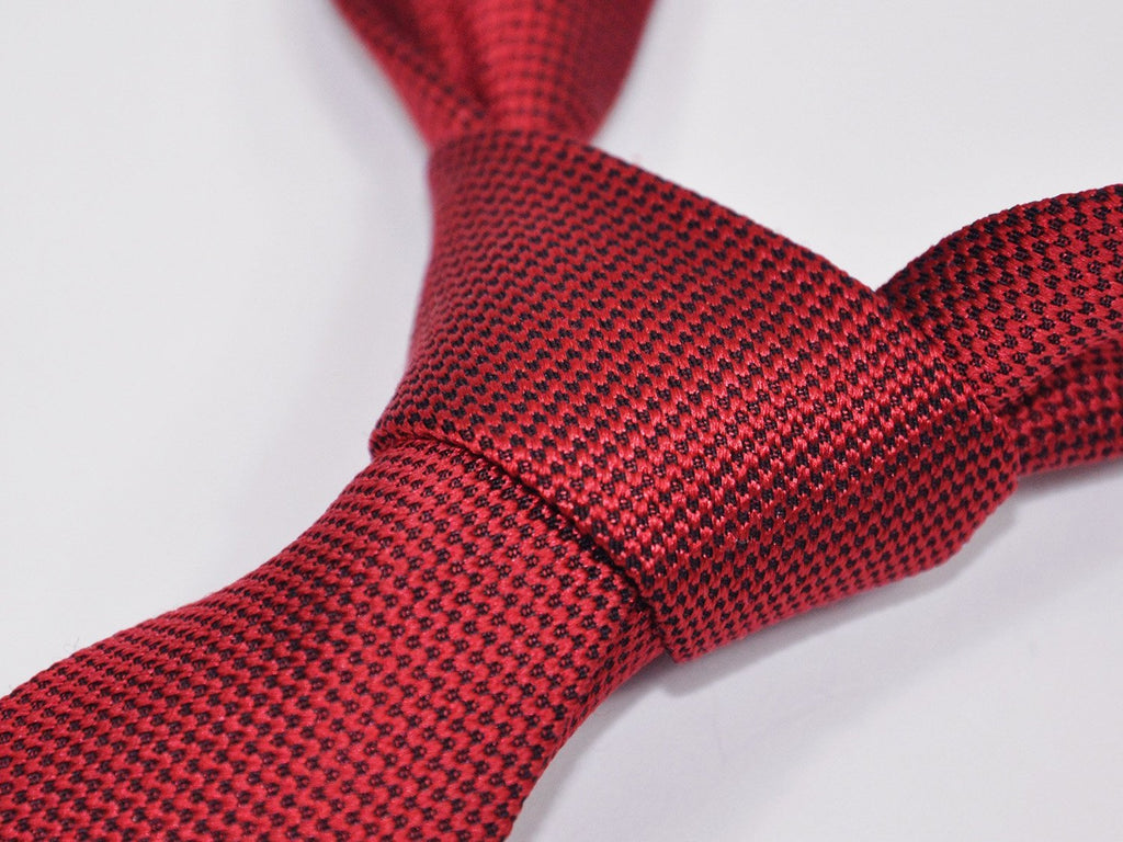 carpasus sustainable organic silk tie red. Carpasus nachhaltige Krawatte Bio Seide in Rot