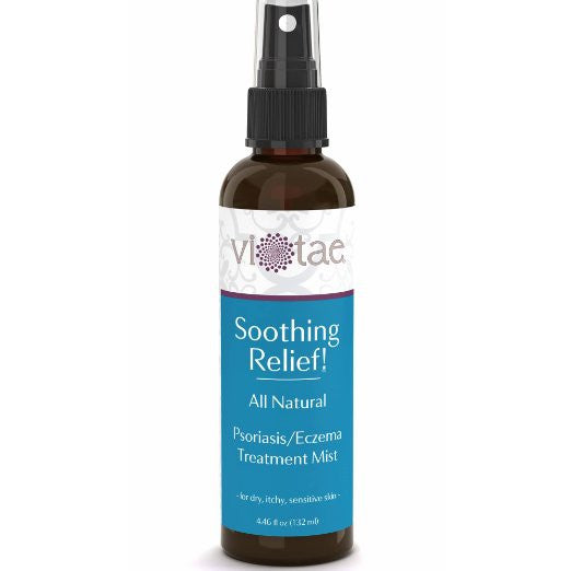 Soothing Relief - 100% Natural, Psoriasis-Eczema Treatment Healing & Relief Mist