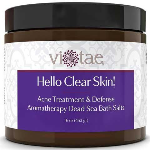 Hello Clear Skin! - Acne Treatment & Defense Aromatherapy Dead Sea Salt