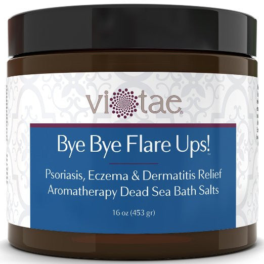 Bye Bye Flare Ups! - Psoriasis Exzema Relief Aromatherapy Dead Sea Bath Salts