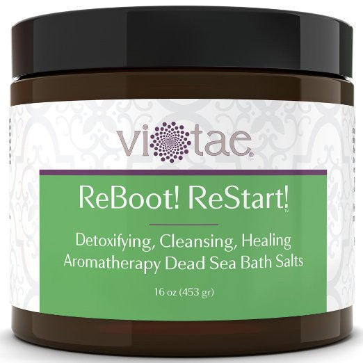 Reboot+Restart - Detox, Cleanse & Heal Aromatherapy Dead Sea Bath Salts