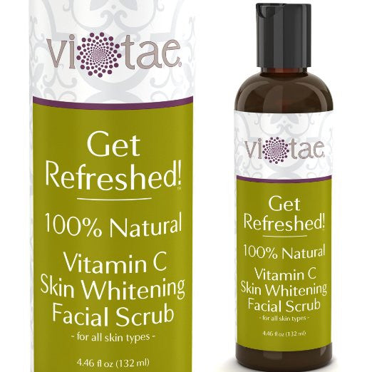 Get Refreshed! - 100% Natural, Skin Whitening Face Scrub