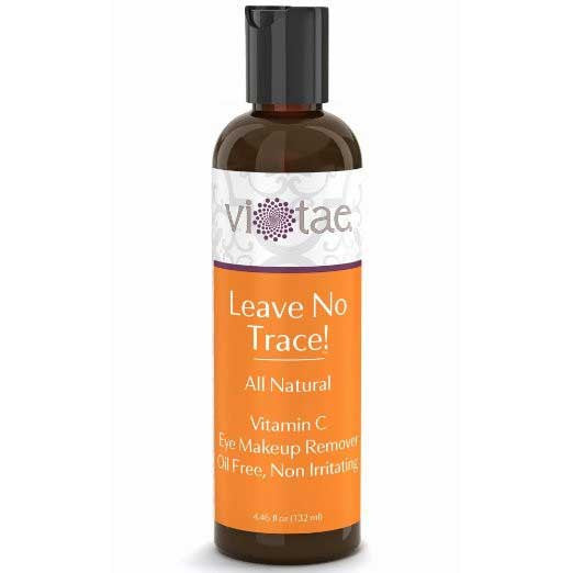 Leave No Trace - 100% Natural, Vitamin C Eye Makeup Remover, Oil Free