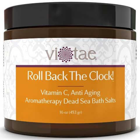 Roll Back The Clock! - Vitamin C Anti-Aging Aromatherapy Dead Sea Bath Salts
