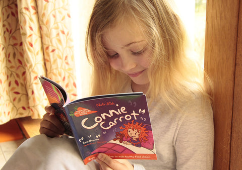 Alexia reading Connie