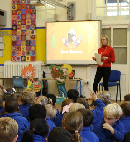 Assembly at Henry Cavendish School