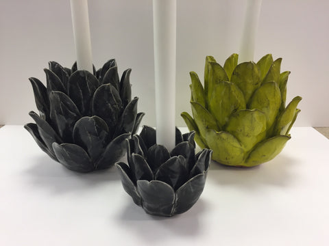 Artichoke Candleholder - Available in 5 Colours