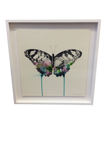 Graffiti Butterfly By Donk - Signed Limited Edition
