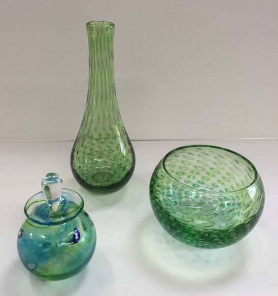Martin Andrews - Ariel Collection - Green Bulb Vase