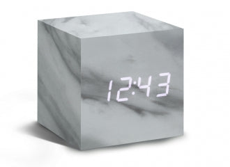 Cube Click Clock - NEW COLOURS NOW AVAILABLE