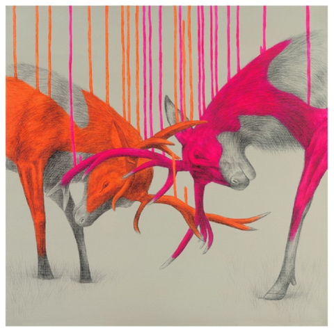 Wild Times II by Louise McNaught - Limited Edition
