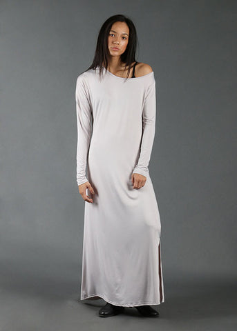 The All-Day Maxi Dress - Grey