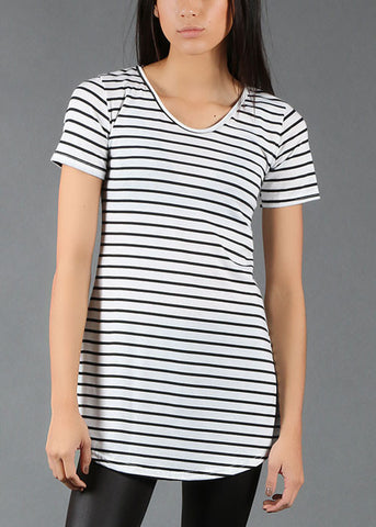 The All-Day Striped Tunic