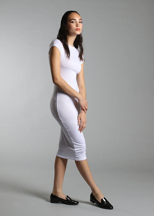 "The ""Hug Me Tight"" Bodycon Dress - White"