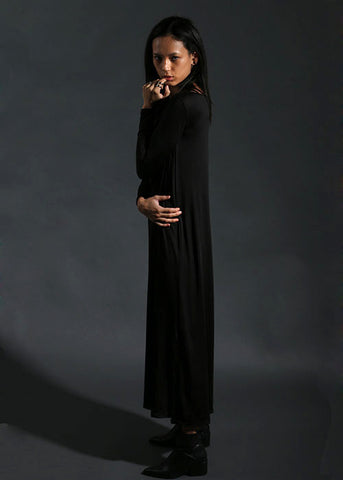The All-Day Maxi Dress - Black
