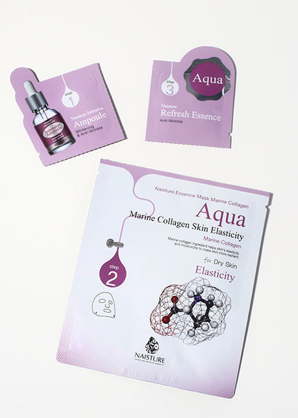 Aqua 3-Step Elasticity Sheet Mask