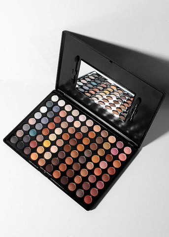 The Beauty Treats 88 Eyeshadow Palette - Warm Tones