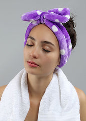 Face Wash Headband - Teal