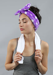 Face Wash Headband - Pink