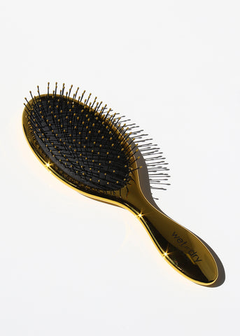 Detangling Wet-N-Dry Hair Brush - Metallic Gold