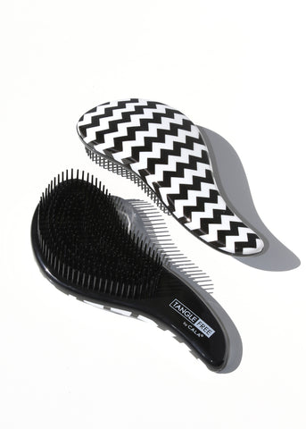 Tangle Free Teezer Hair Brush - Black & White