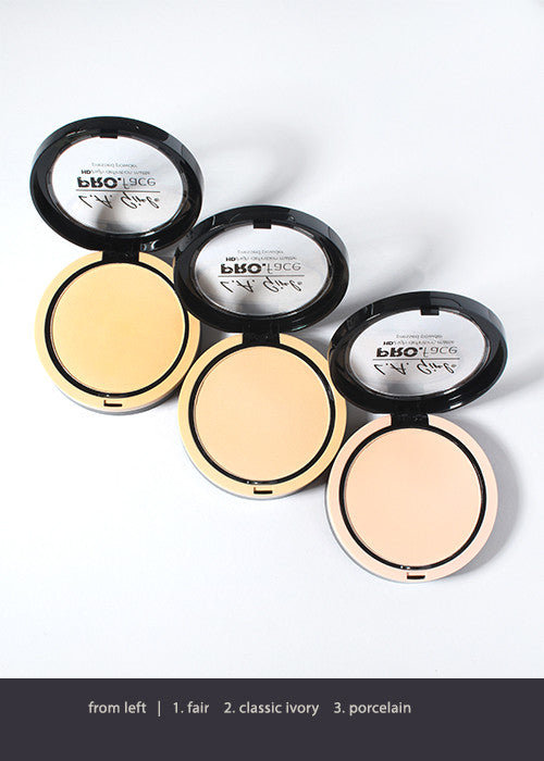 L.A. Girl HD Pro Face Pressed Powder - Light Tones
