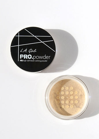 L.A. Girl Pro Setting HD Powder - Banana Yellow