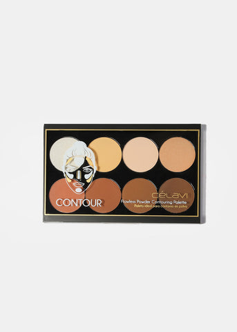 Celavi Powder Contour and Highlight Palette