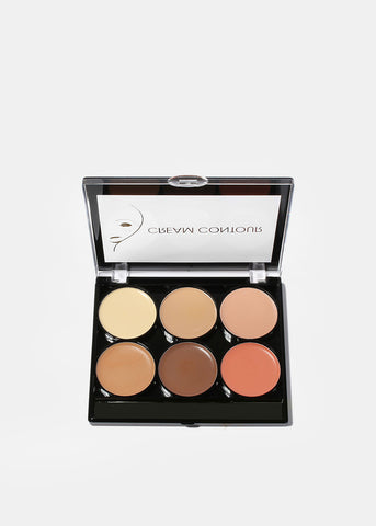 Celavi 6 Color Cream Contour Kit