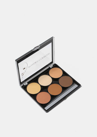 Celavi 6 Color Powder Contour Kit