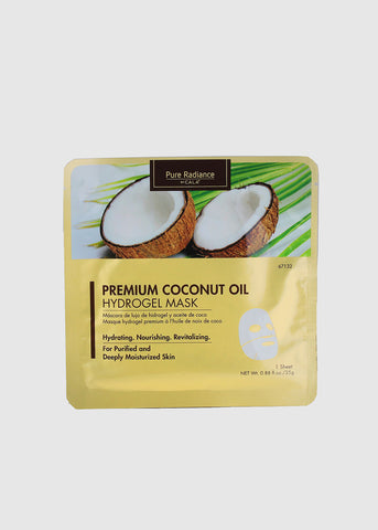 Coconut Oil Hydrogel Mask