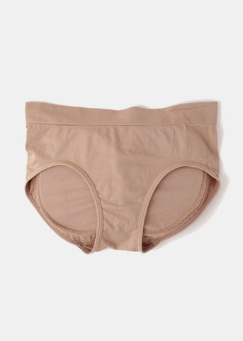 Butt Booster Panty - Taupe