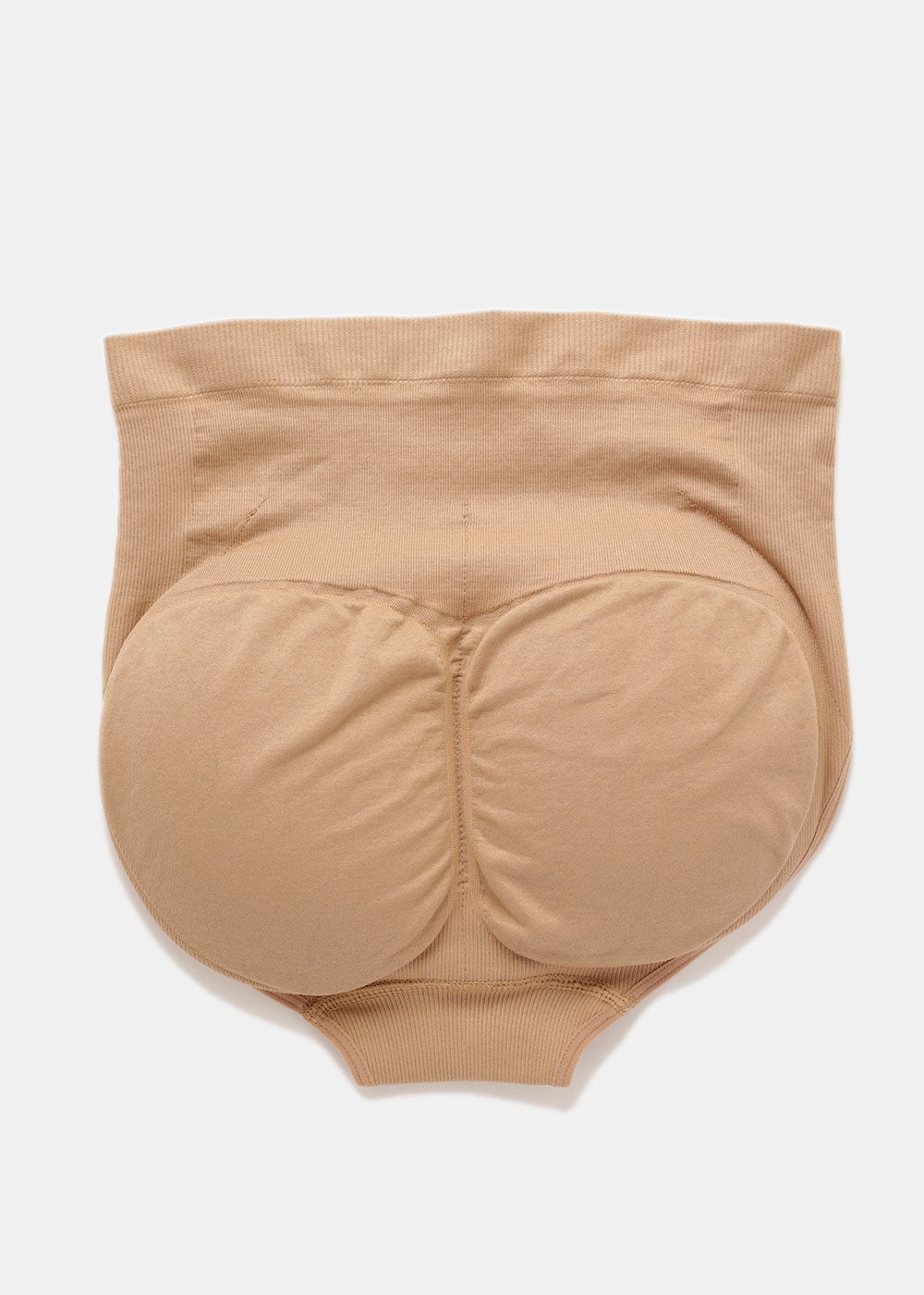 Padded Butt Lifting Panties - Beige