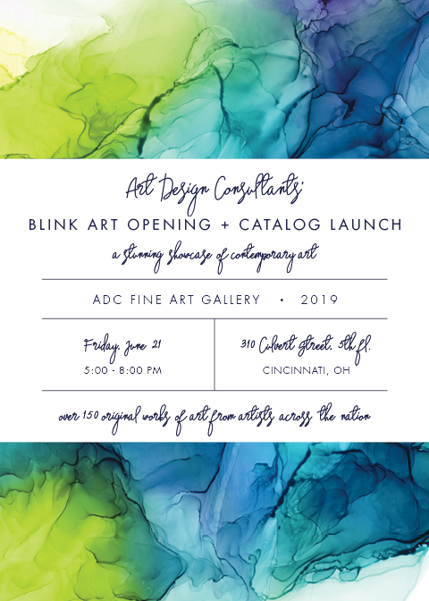 blink art artist showcase invite 2019