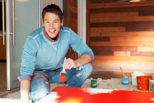 David Bromstad of HGTV's Color Splash and HGTV Design Star | Blink Art Resource