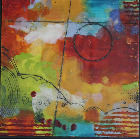 Ursula Brenner, Painting, Encaustic, Bees Wax, wall art, art, fine art, ADC Inc, Art Design Consultants, green design, eco friendly, sustainable, earth