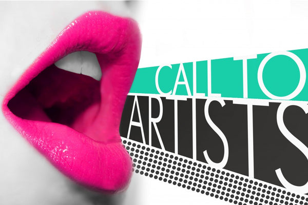 ACA Call to Artists Shouting Flyer | Art Comes Alive | Art Design Consultants
