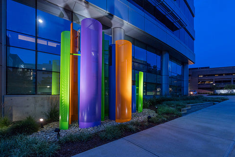 Cincinnati Childrens Hospital Medical Center - corporate art installation by Art Design Consultants (ADC). Artwork by Shelley Parriott