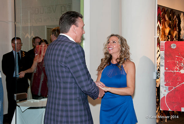 Networking Opportunities at Art Comes Alive ACA | Art Design Consultants | Kate Messer Photography 2014