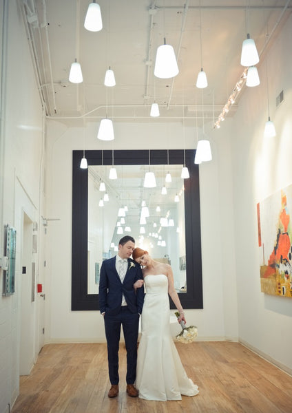 Kristin and Ervin | Weddings at Art Design Consultants Gallery